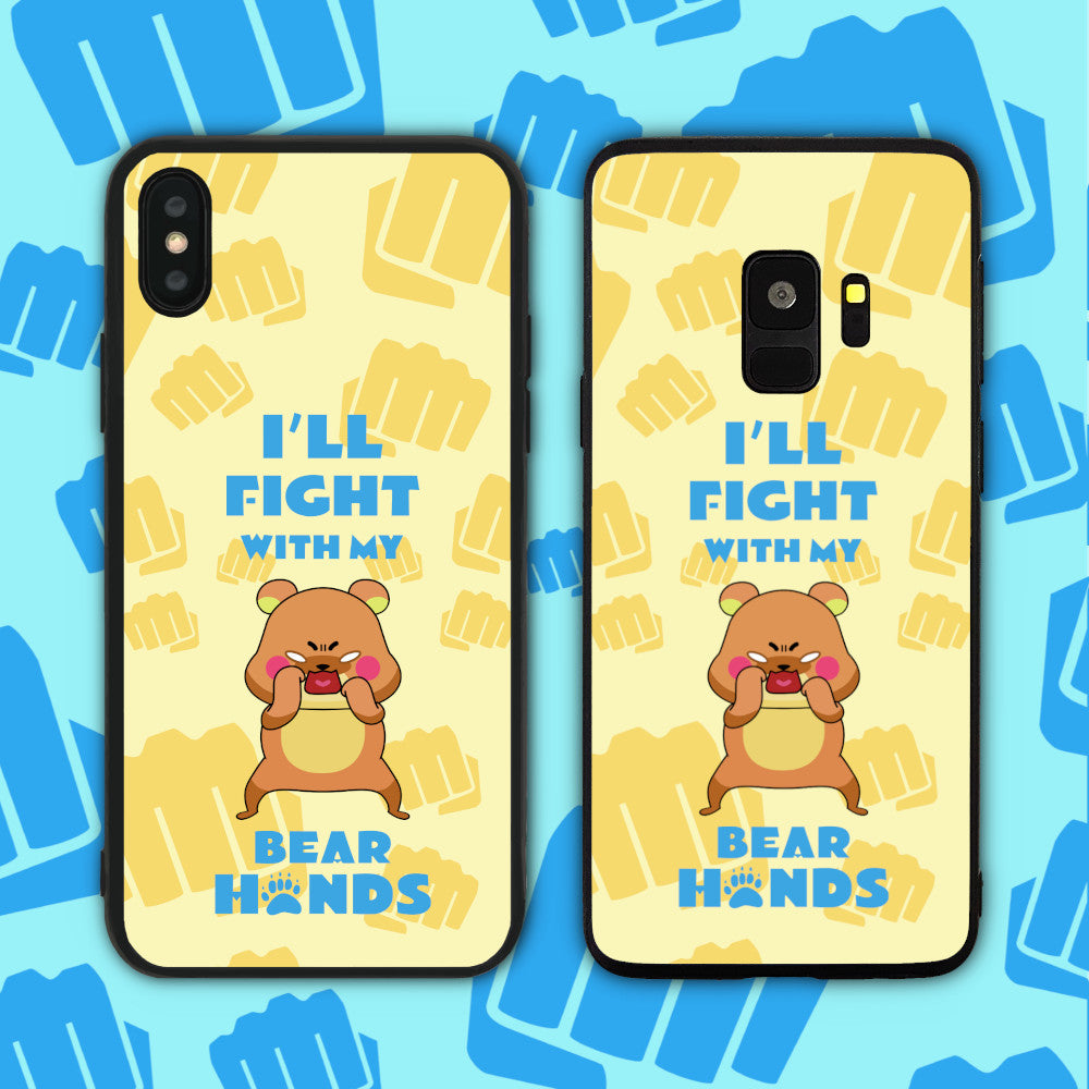 Fight With My Bear (Bare) Hands Phone Case