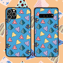 Load image into Gallery viewer, Five Stones Pattern In Blue Phone Case