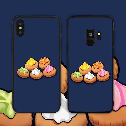 Gem Biscuits Blue Phone Case