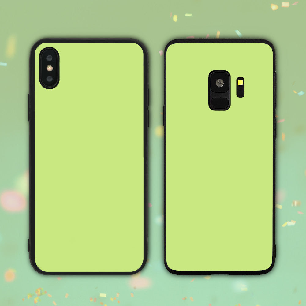 Grass Green Color Series Phone Case
