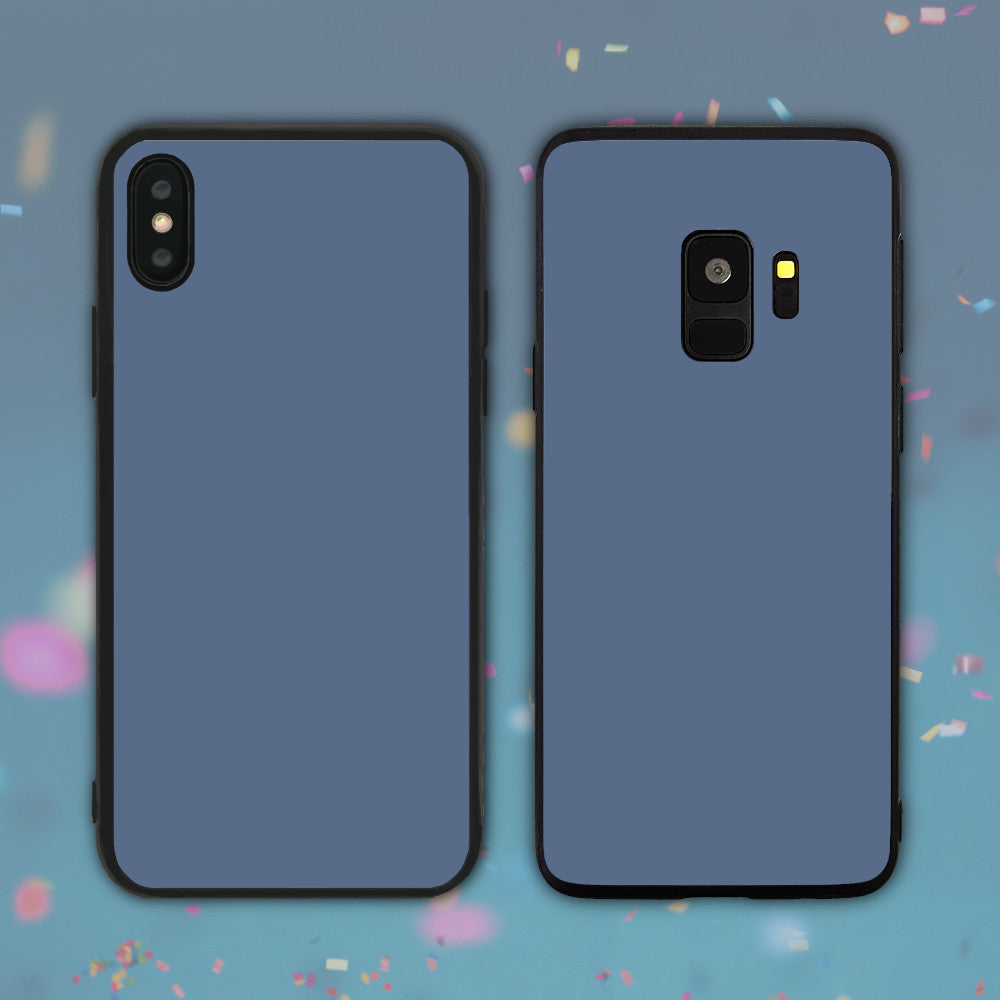 Grey Blue Color Series Phone Case