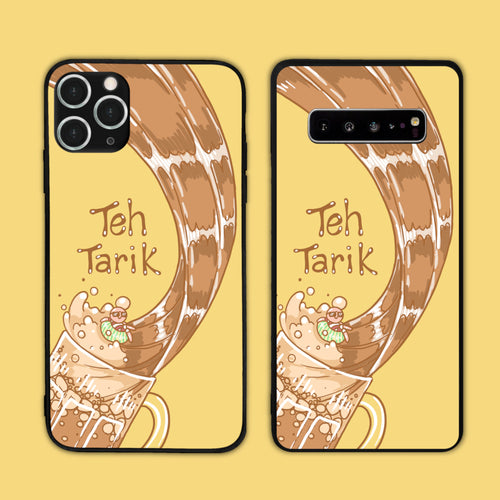 Guy Chilling In Teh Tarik Phone Case