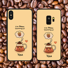 Load image into Gallery viewer, I've Bean (Been) Thinking Of You Phone Case