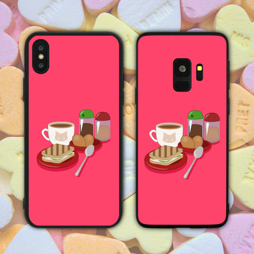 Kaya Toast Set Phone Case