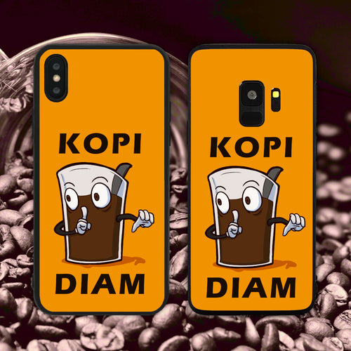 Kopi Diam Orange Phone Case