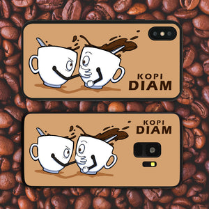 Kopi Diam Too Beige Phone Case