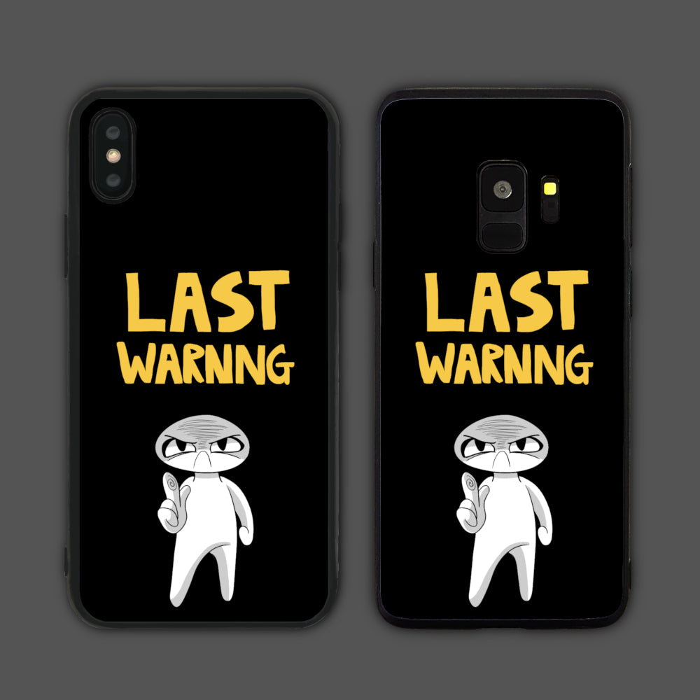 Last Warning Phone Case