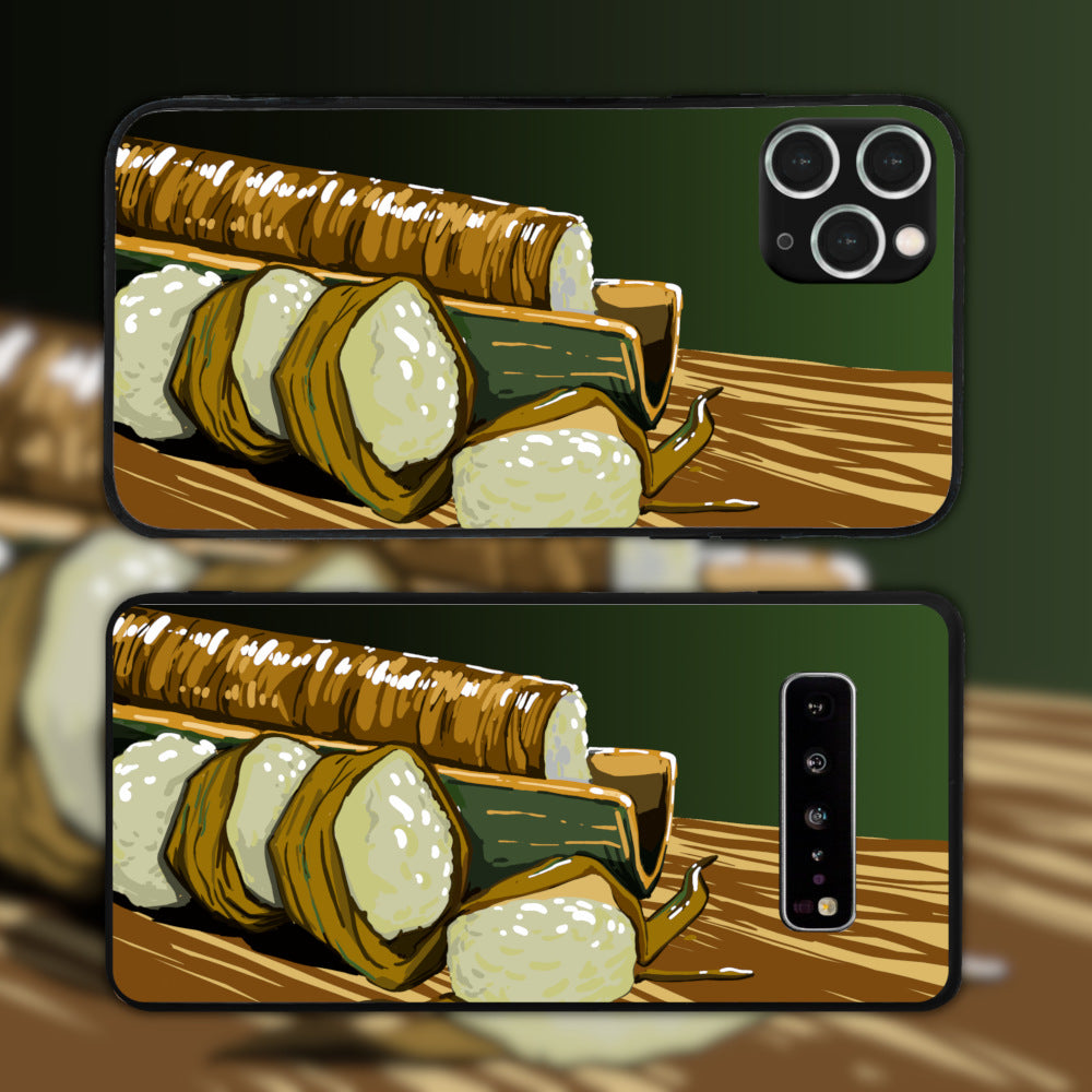 Lemang Served On A Bamboo Phone Case