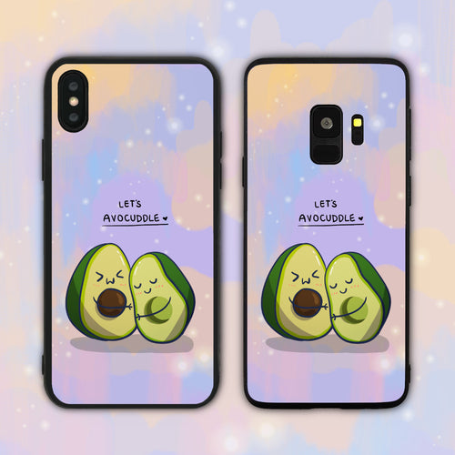 Let's Avocuddle Phone Case