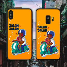 Load image into Gallery viewer, Let's Go Jalan Jalan Phone Case