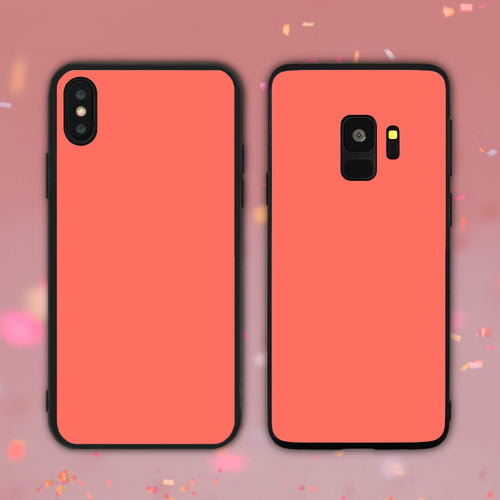 Living Coral Color Series Phone Case