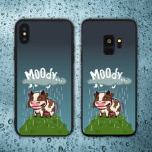 Load image into Gallery viewer, MOOdy Cow Phone Case