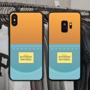 Made Of Boyfriend Material Phone Case