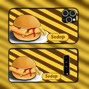 Malaysian Road-Side Style Burger Phone Case