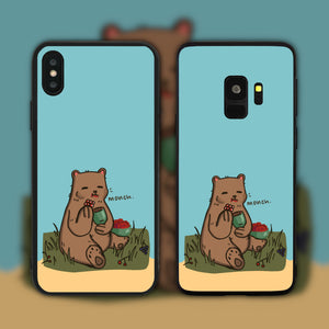 Monching Bear Phone Case