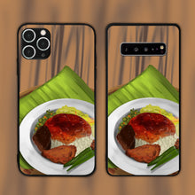 Load image into Gallery viewer, Nasi Kandar On A Plate Phone Case