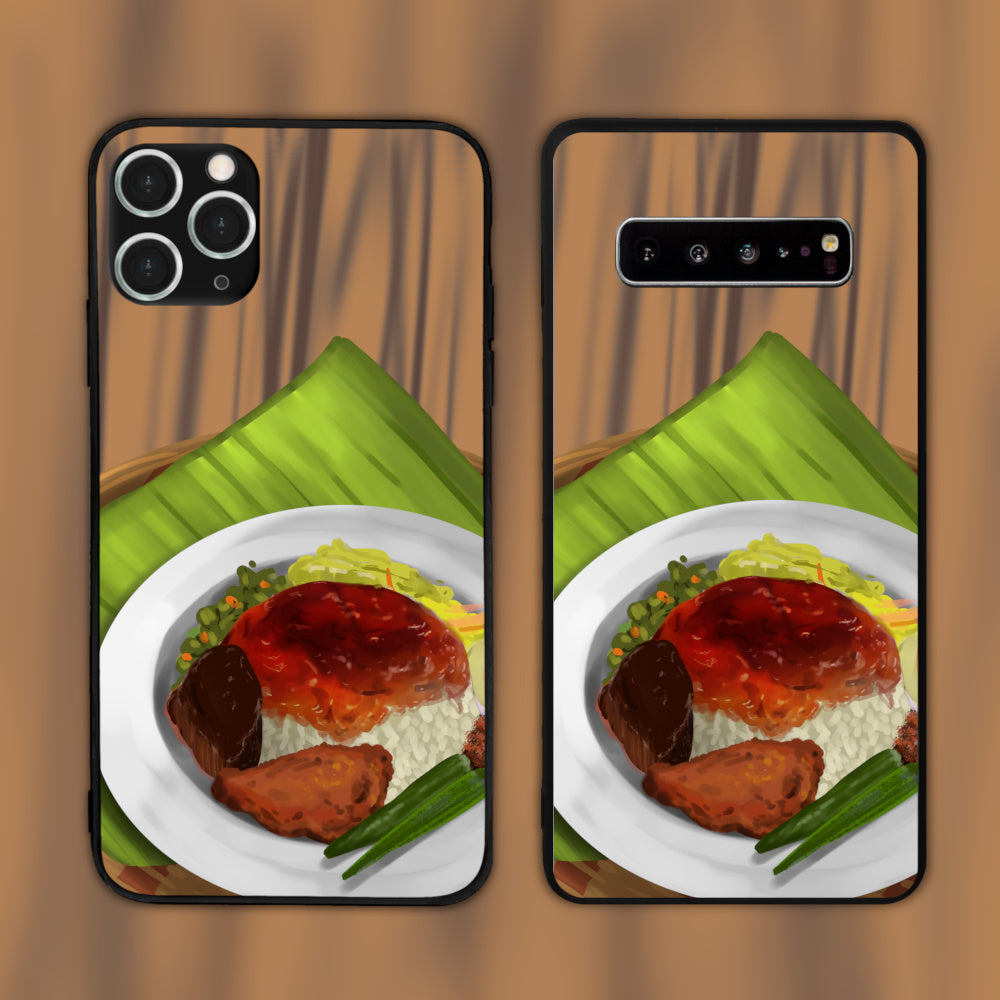 Nasi Kandar On A Plate Phone Case