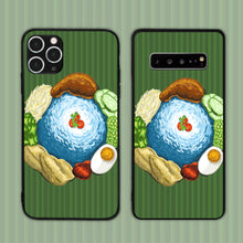 Load image into Gallery viewer, Nasi Kerabu On Pandan Leaf Phone Case