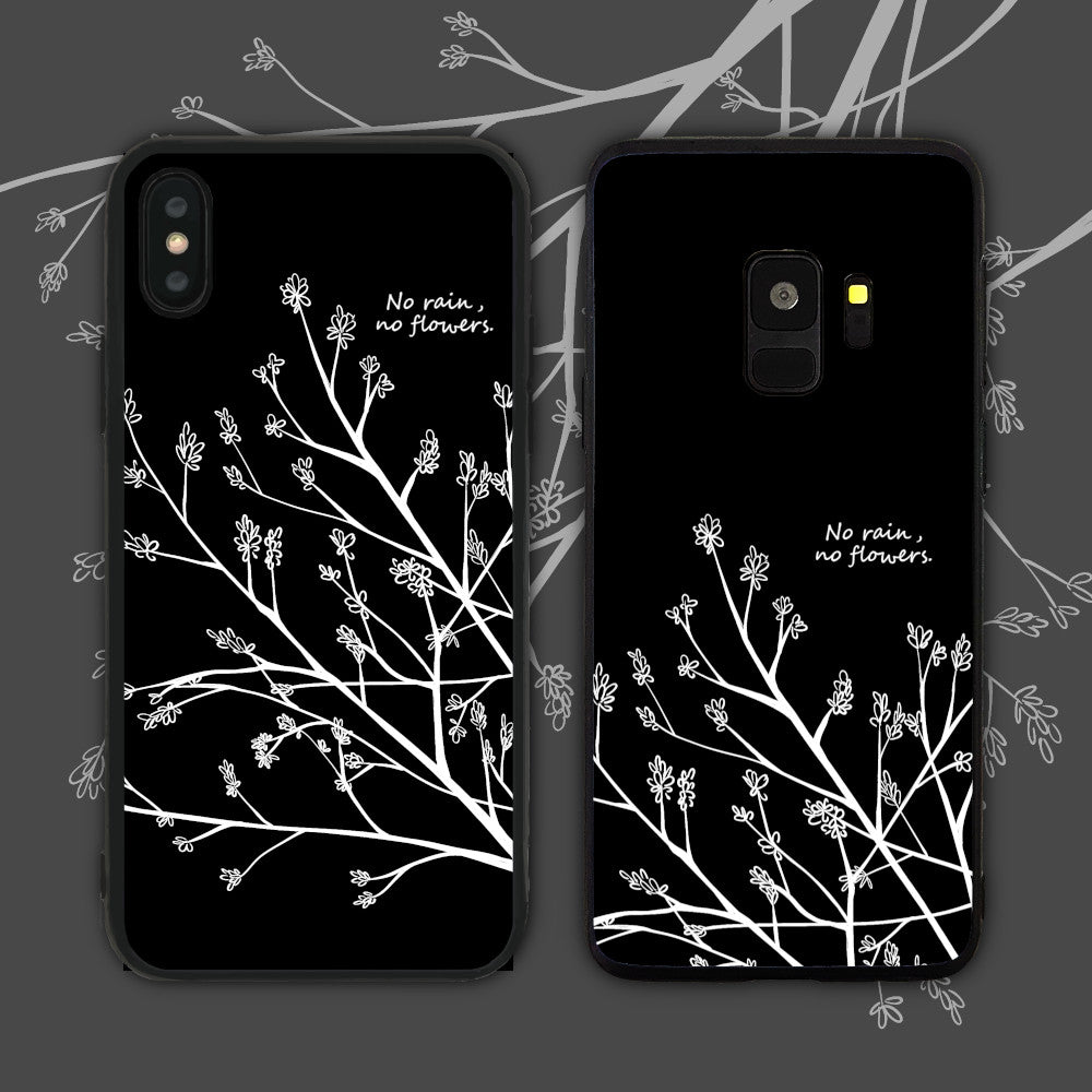 No Rain No Flowers Phone Case