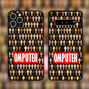 Omputeh Standing Out In A Crowd Phone Case