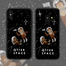 Load image into Gallery viewer, Otter (Outer) Space Phone Case