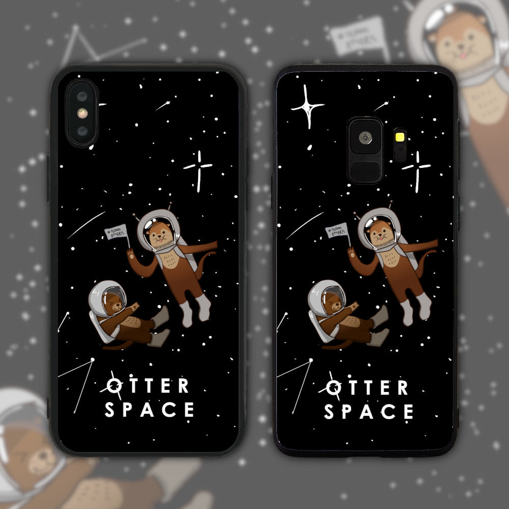 Otter (Outer) Space Phone Case