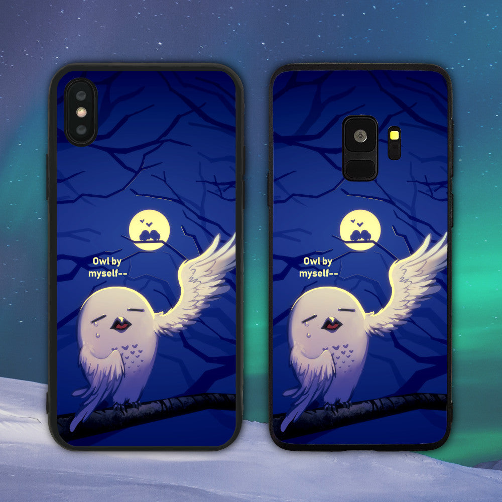 Owl (All) By Myself Phone Case