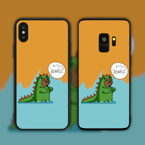 Roar Dinosaur Bear Phone Case