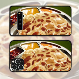 Roti Canai With Curries Landscape Phone Case