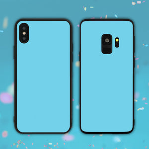 Sky Blue Color Series Phone Case