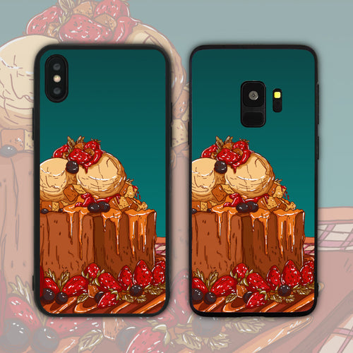 Strawberry Shibuya Toast Phone Case