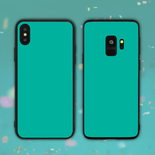 Teal Color Series Phone Case