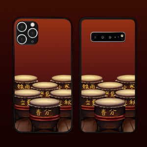 Twenty Four Season Drum Here We Go Phone Case