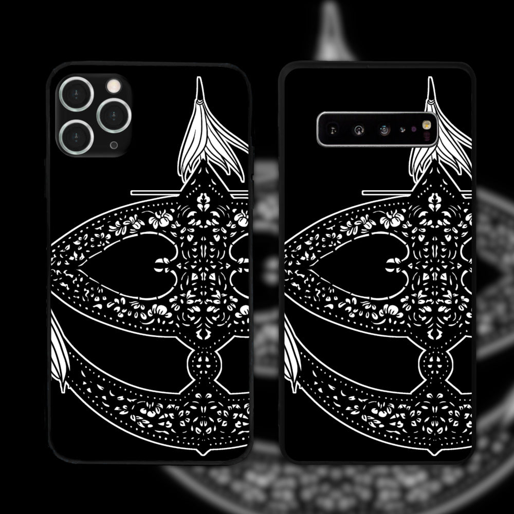 Wau Bulan Black And White Phone Case