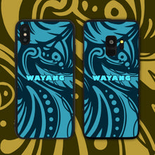 Load image into Gallery viewer, Wayang Blue Phone Case