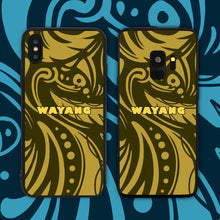 Load image into Gallery viewer, Wayang Yellow Phone Case
