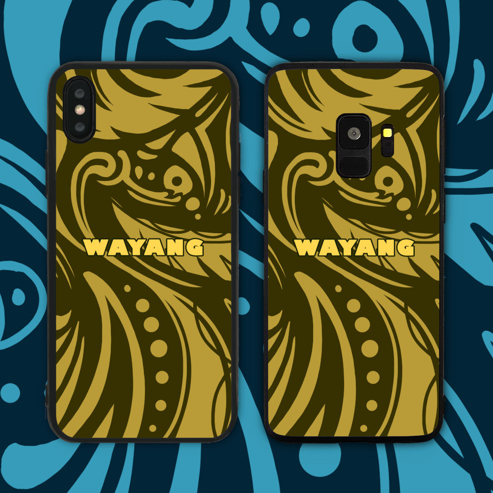 Wayang Yellow Phone Case