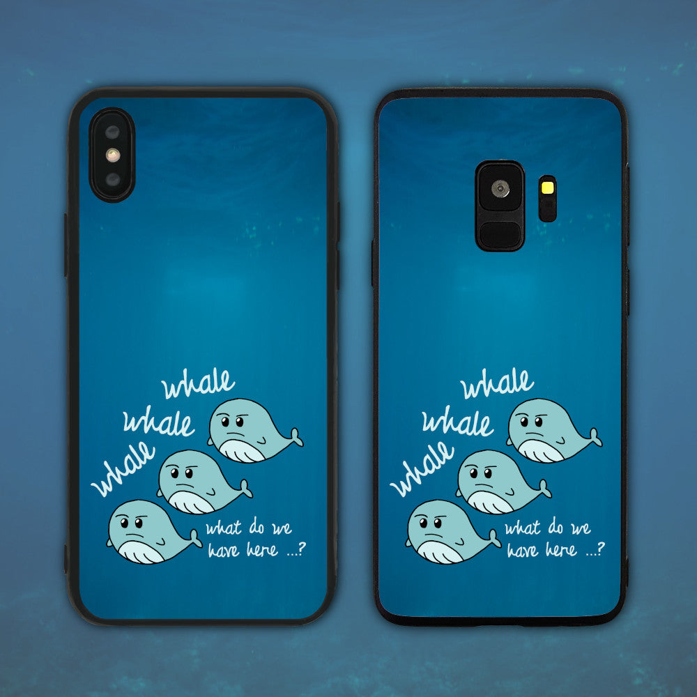 Whale Whale Whale (Well Well Well) Phone Case