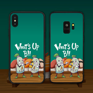 What's Up B (Wasabi) Phone Case