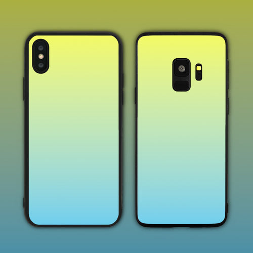 Yellow Blue Gradient Series Phone Case