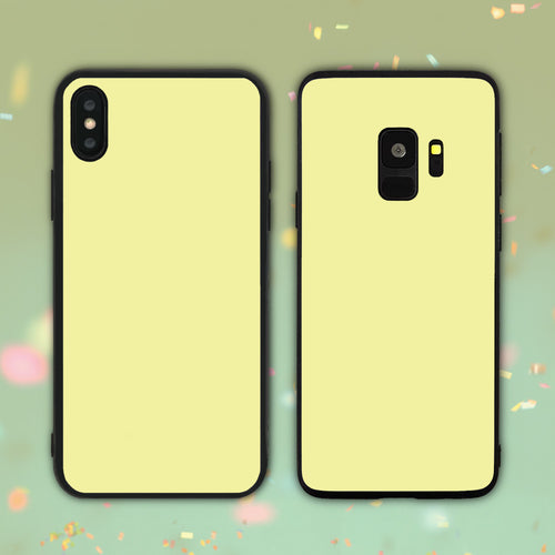 Yellow Color Series Phone Case