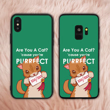 Load image into Gallery viewer, You Are Purrfect Cat Phone Case