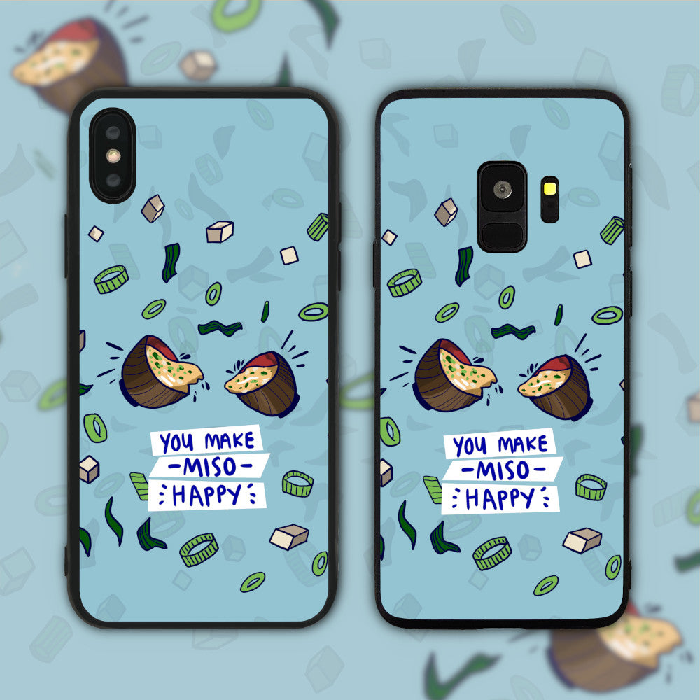 You Make Miso (Me So) Happy Phone Case