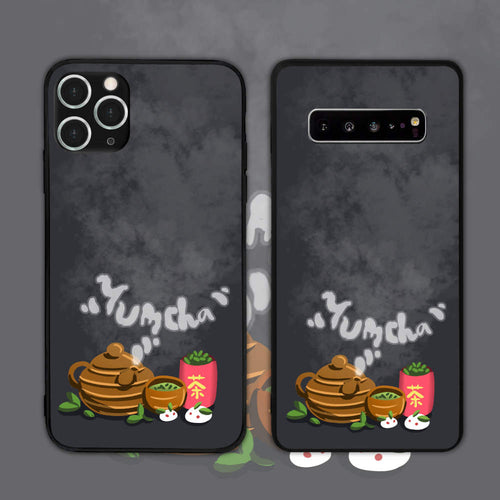 Yumcha Green Tea And Drink Phone Case