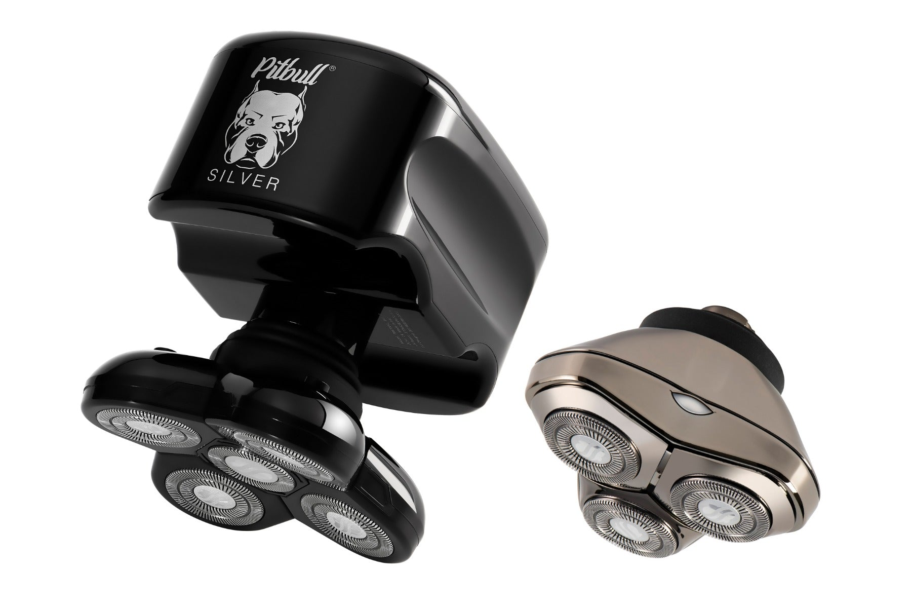 Pitbull silver plus shaver by skull shaver with 2 blades