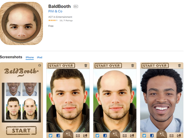 Bald booth app review