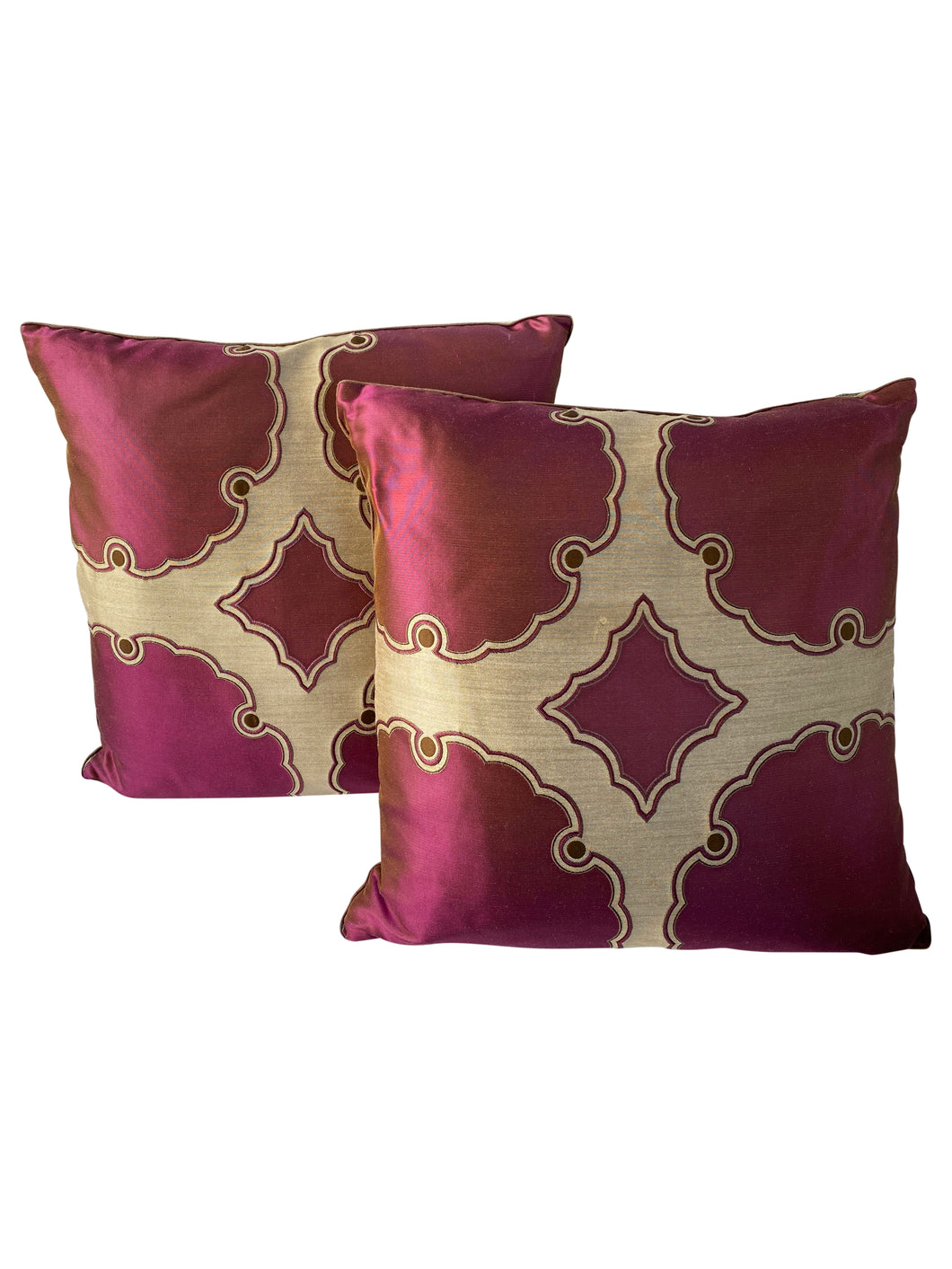 Dransfield & Ross Gothic Decorative Accent Pillows (Pair)