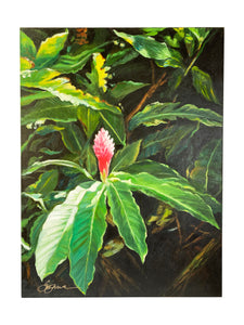 "Original Art by Suzanne Wilkins ""Jungle Bloom"""
