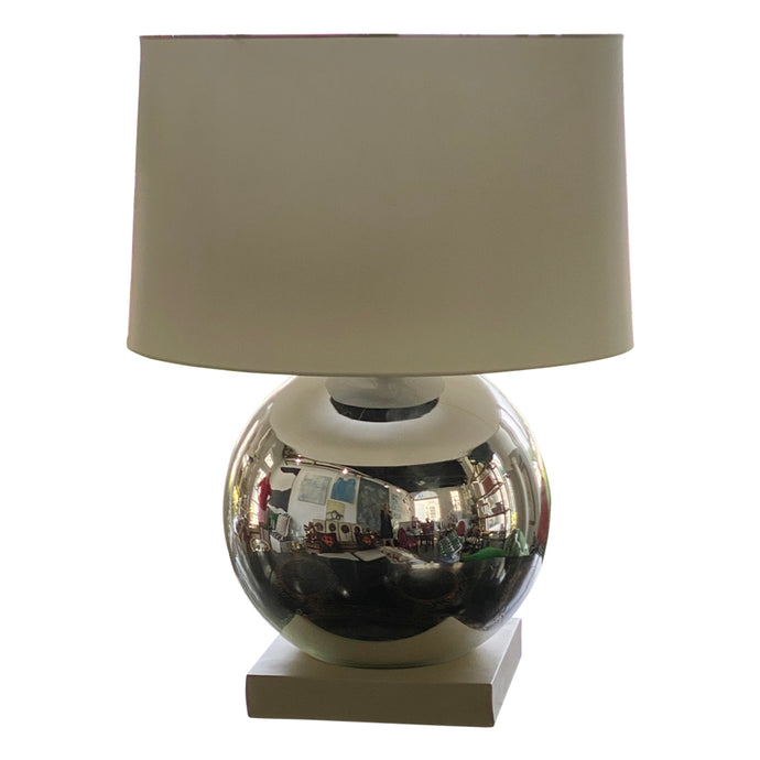 Italian Gazing Globe Lamps (Pair)