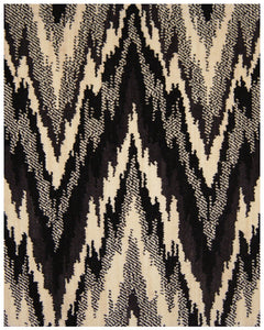 BARGELLO - BLACK & WHITE
